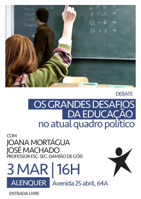 Iniciativa sobre educação em Alenquer
